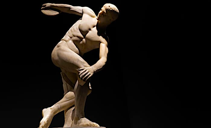 Palazzo Massimo al Termi - Discuss Thrower with head up