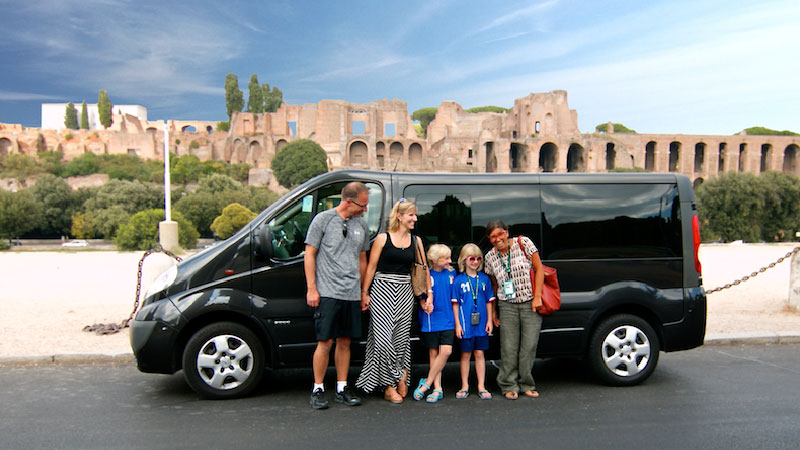 driving tour car family rome hidden gems italy