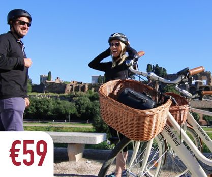e bike tour of Rome best way to see the most of rome in the summer and spring