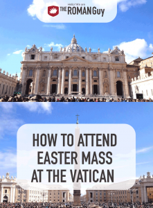 Mass on Easter is celebrated in the Basilica from 10:15 am until noon and is led by the Pope himself. Tickets are free, therefore we recommend planning in advance. Here is the guide on how to get Easter Mass Vatican tickets | The Roman Guy Italy Tours