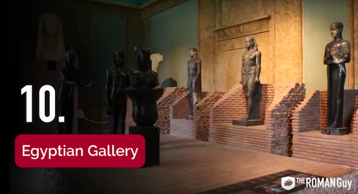 Egyptian Gallery in the Vatican Museum