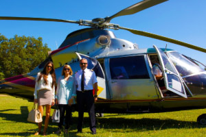 Italy travel experts helicopter transfer trip planning vacation