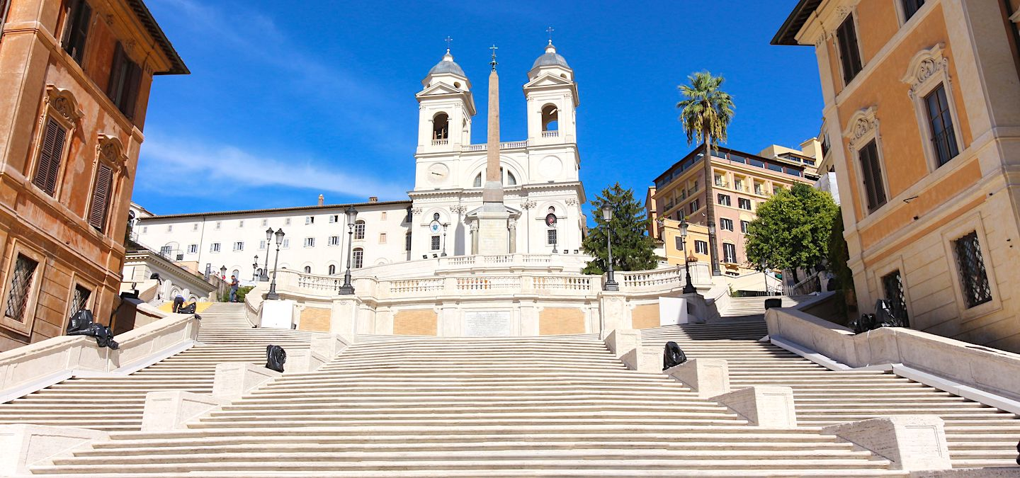 Where are the Spanish Steps