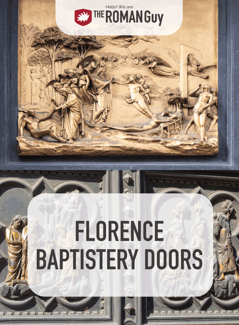 These doors, known as 'The Gates of Paradise', encompass the beauty of the construction.Their fame stems not only from their uncontested beauty, but also because of the stories and experiences behind their realization. In this guide, learn all about theGates of Paradiseand the other Florence Baptistry doors.
