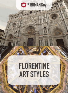 The success of Florence's banking systems gave rise to prominent merchant-class families such as the Medicis, who patronized the creation of many styles of art which led to the Italian Renaissance. The prosperity of the city during the Italian Renaissance paved the way for the rise of many styles of Florence art and architecture | The Roman Guy Italy Tours