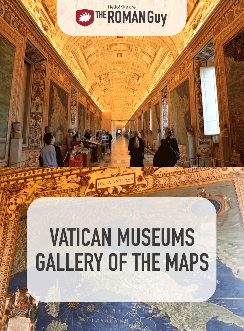 Displaying maps from all over the world created by Roman topographers during the sixteenth century, you can get a glimpse of what the world was thought to look like centuries ago. In this guide, discover the details of the Gallery of Maps, the main artworks inside and how to visit. The Roman Guy Italy Tours