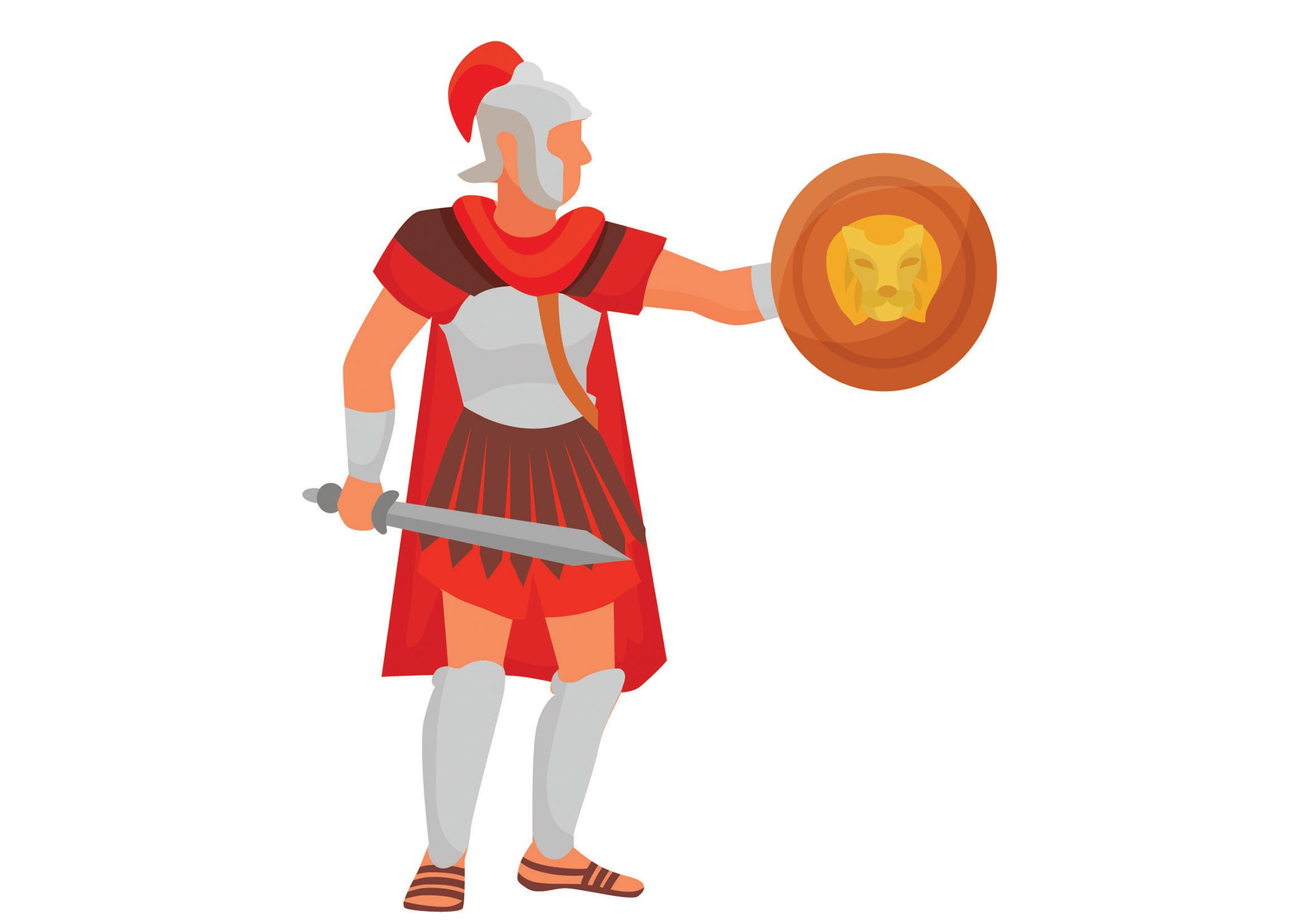 Gallus gladiator in ancient Rome