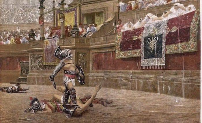 the roman guy colosseum