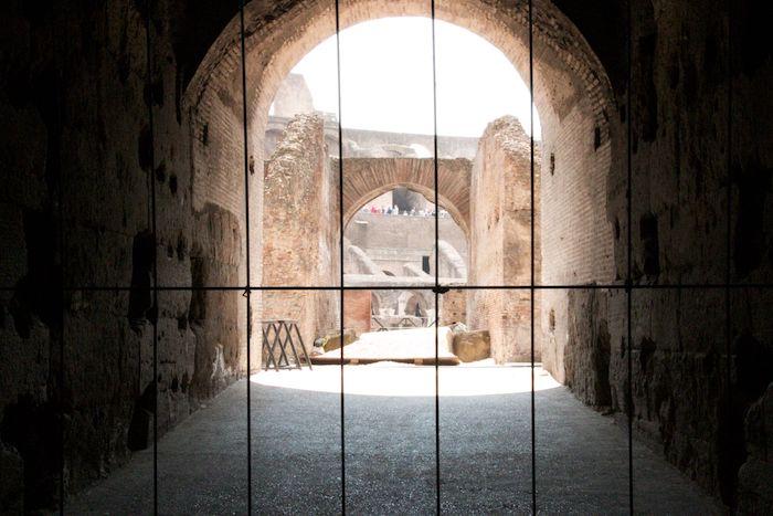 gladiator entrance
