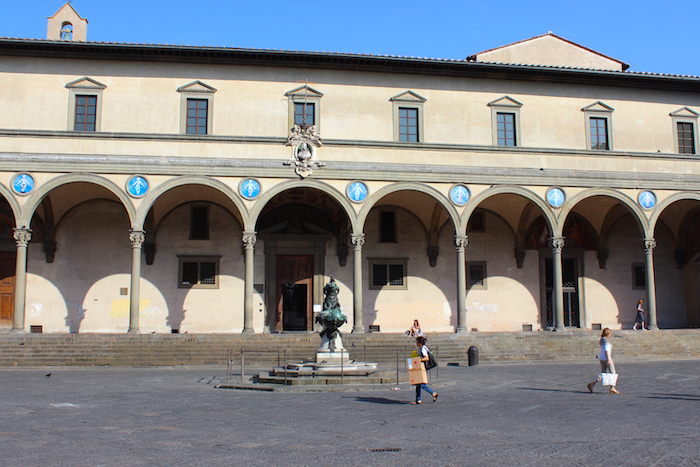 Hospital of the Innocents in Florence