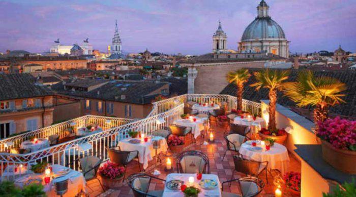 Rafael Hotel in Rome