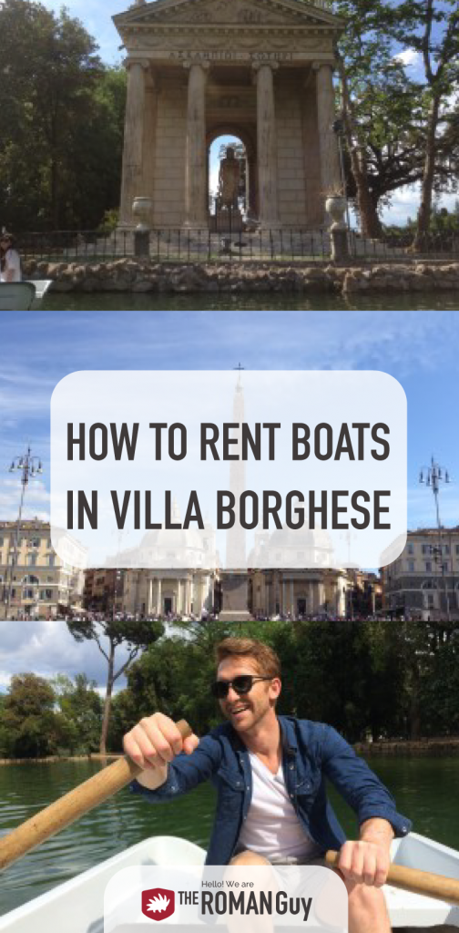 HOW TO: Rent Boats in Villa Borghese in Rome, Italy | The Roman Guy Italy Tours