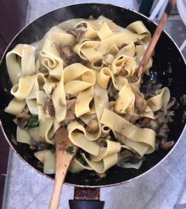Italian fall recipe - Step 8 add pasta