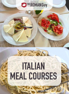 In this guide, learn which Italian meal courses are served when, and what to expect at a traditional Italian dinner.