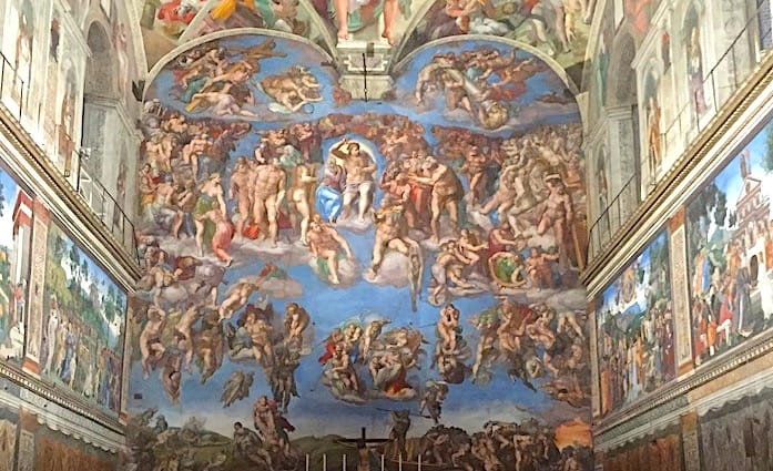 The Last Judgement in the Sistine Chapel one of the top thins to see