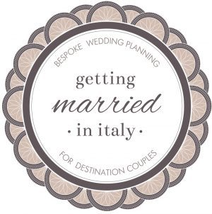 logo getting married in Italy Wedding in Italy