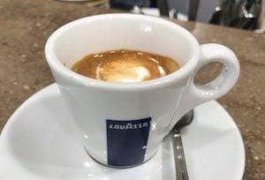 macchiato Italian coffee drinks