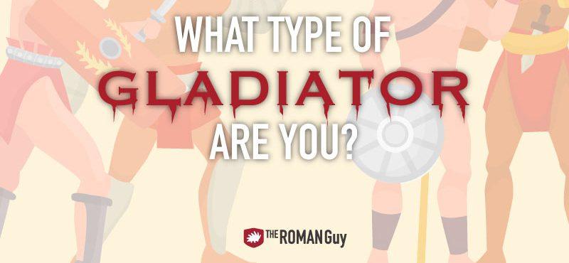 Types of Roman Gladiators!!