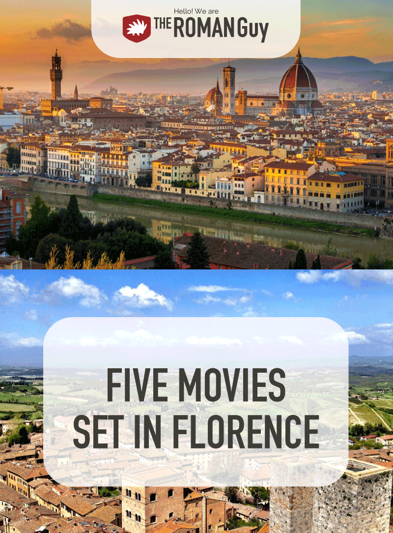 Historical monuments such as the Florence Cathedral and the Ponte Vecchio Bridge, as well as the natural beauty of the surrounding Tuscany region make Florence an ideal location for filming. Here is a list of five movies set in Florence, Italy | The Roman Guy Italy Tours