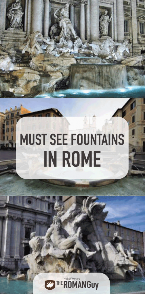 INCREDIBLE Must See Fountains in Rome | The Roman Guy Italy Tours