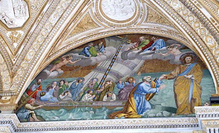 the roman guy st peter's basilica