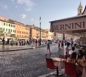 Best Piazzas in Rome - Bernini Ristorante
