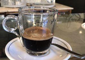orzo Italian coffee drinks