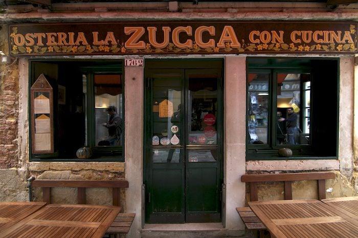 Osteria la Zucca in Venice, Italy