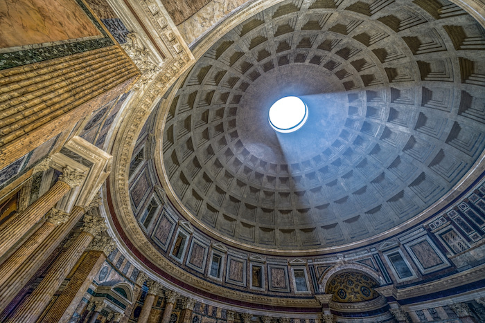 Oculus of Pantheon Rome