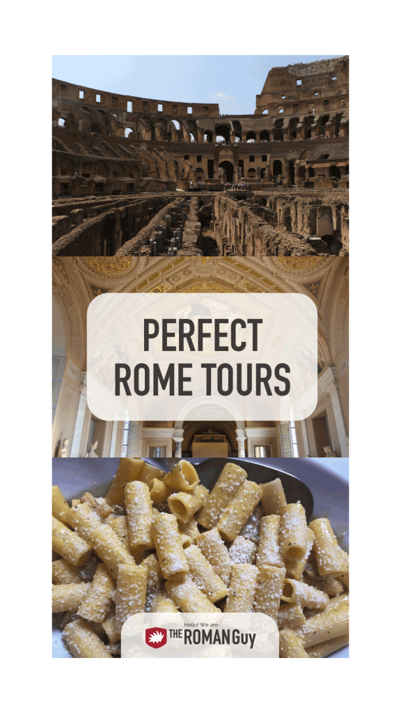 Check out all the UNMISSABLE Rome Tours on your Italy holiday | The Roman Guy Tours