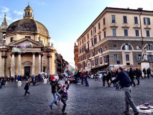 rome for families piazzas