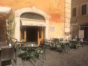 Best Piazzas in Rome - Gran Caffe