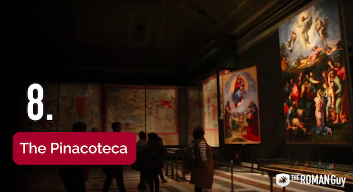 Pinacoteca in the Vatican Museum