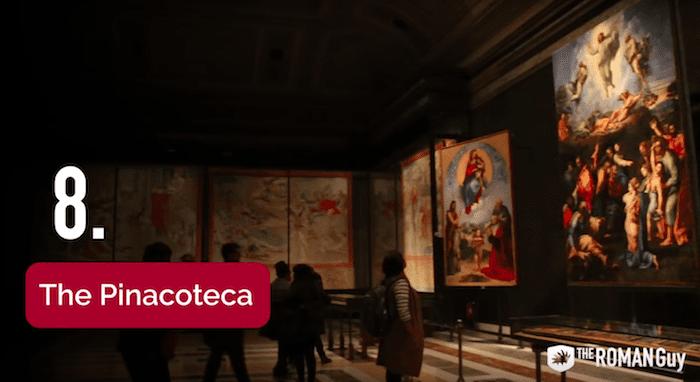 Pinacoteca in the Vatican Museum