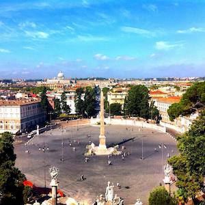 places to watch the sunset in Rome - Pincio Terrace