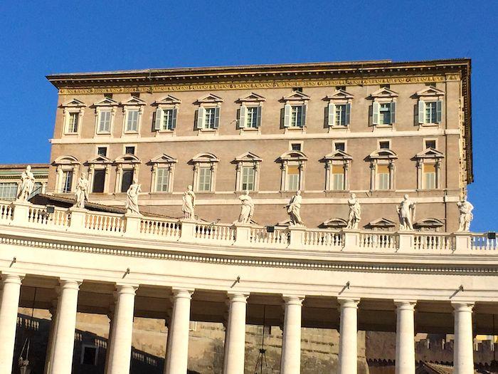 pope's apartment