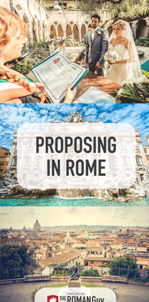 BEST and most romantic places to propose in Rome! | The Roman Guy Italy Tours