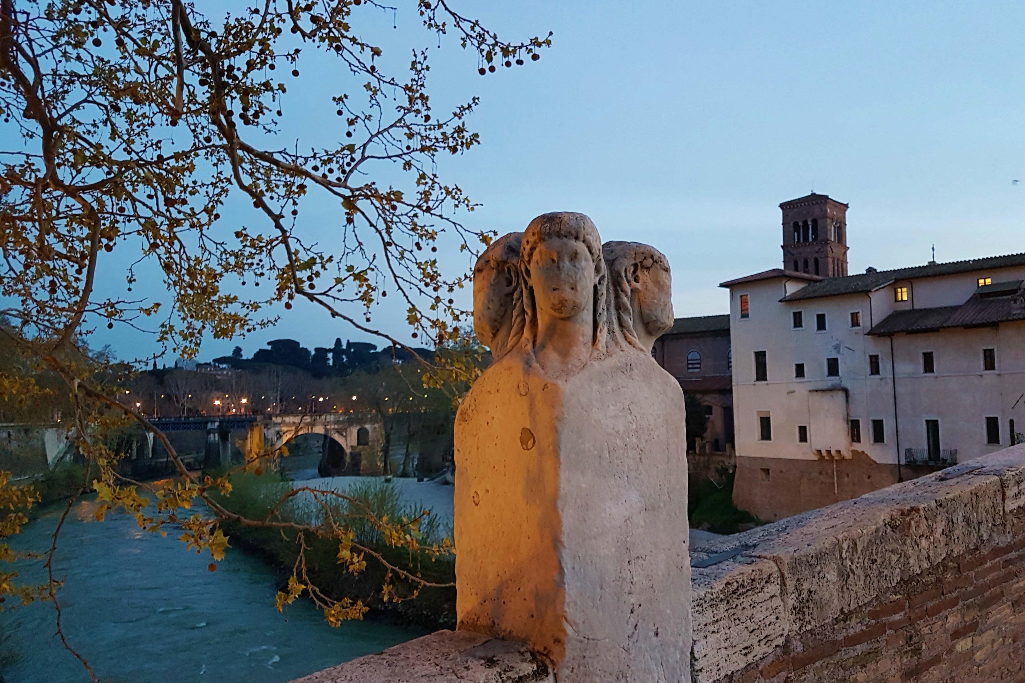 Tiber Island Ponte Fabricious