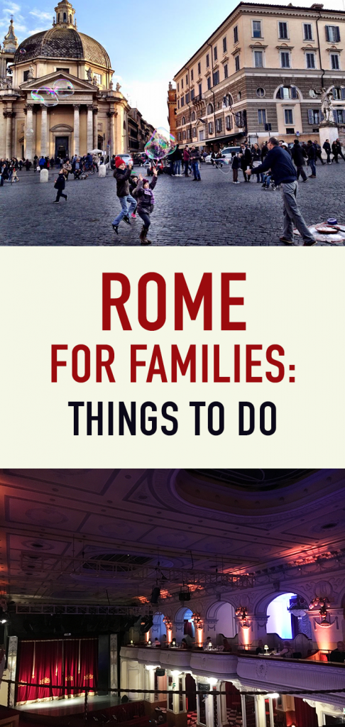 Rome for Families Things to Do