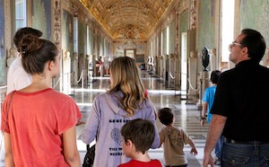 rome for families kids vatican tour