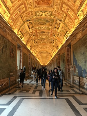 rome itineraries day two vatican tour