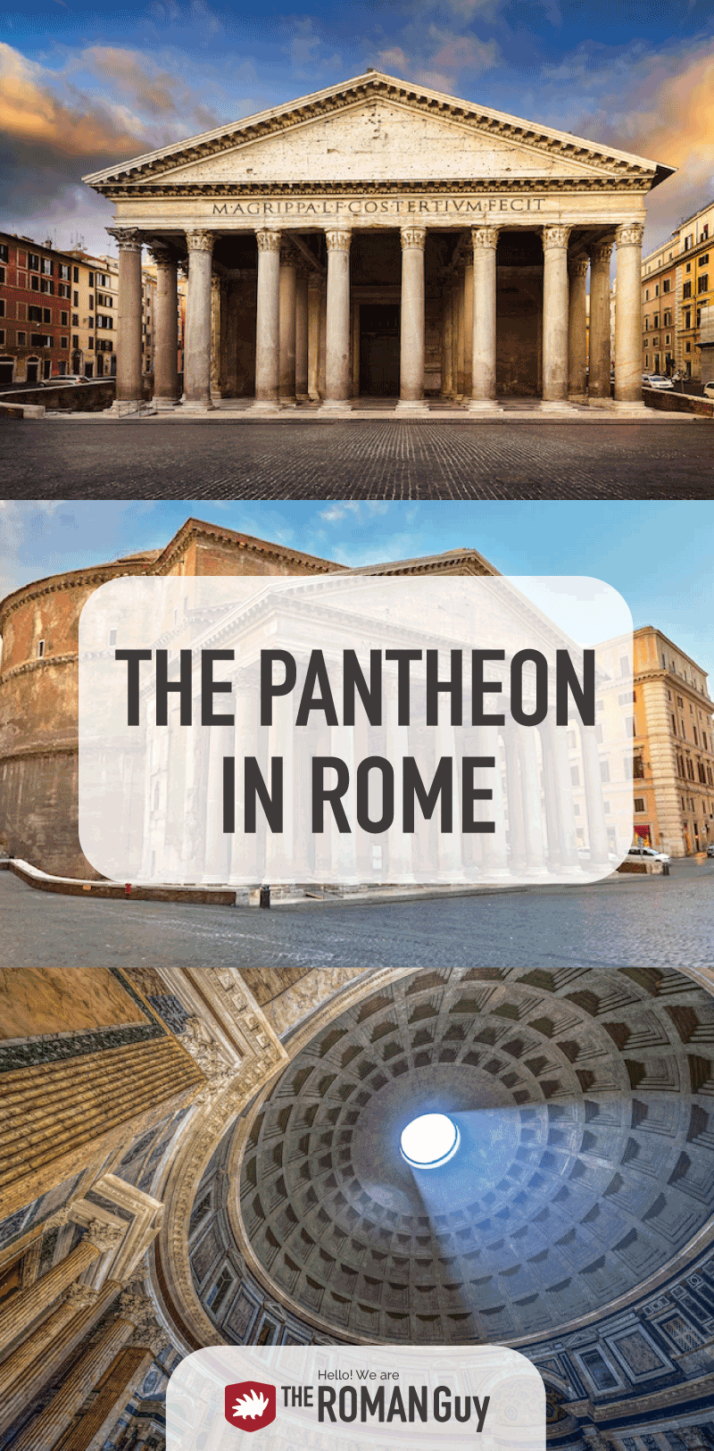 DISCOVER ROME'S PANTHEON: But what is the Pantheon? When was it built? Jump on a Rome tour to see this marvel with your own eyes! The Roman Guy Italy Tours
