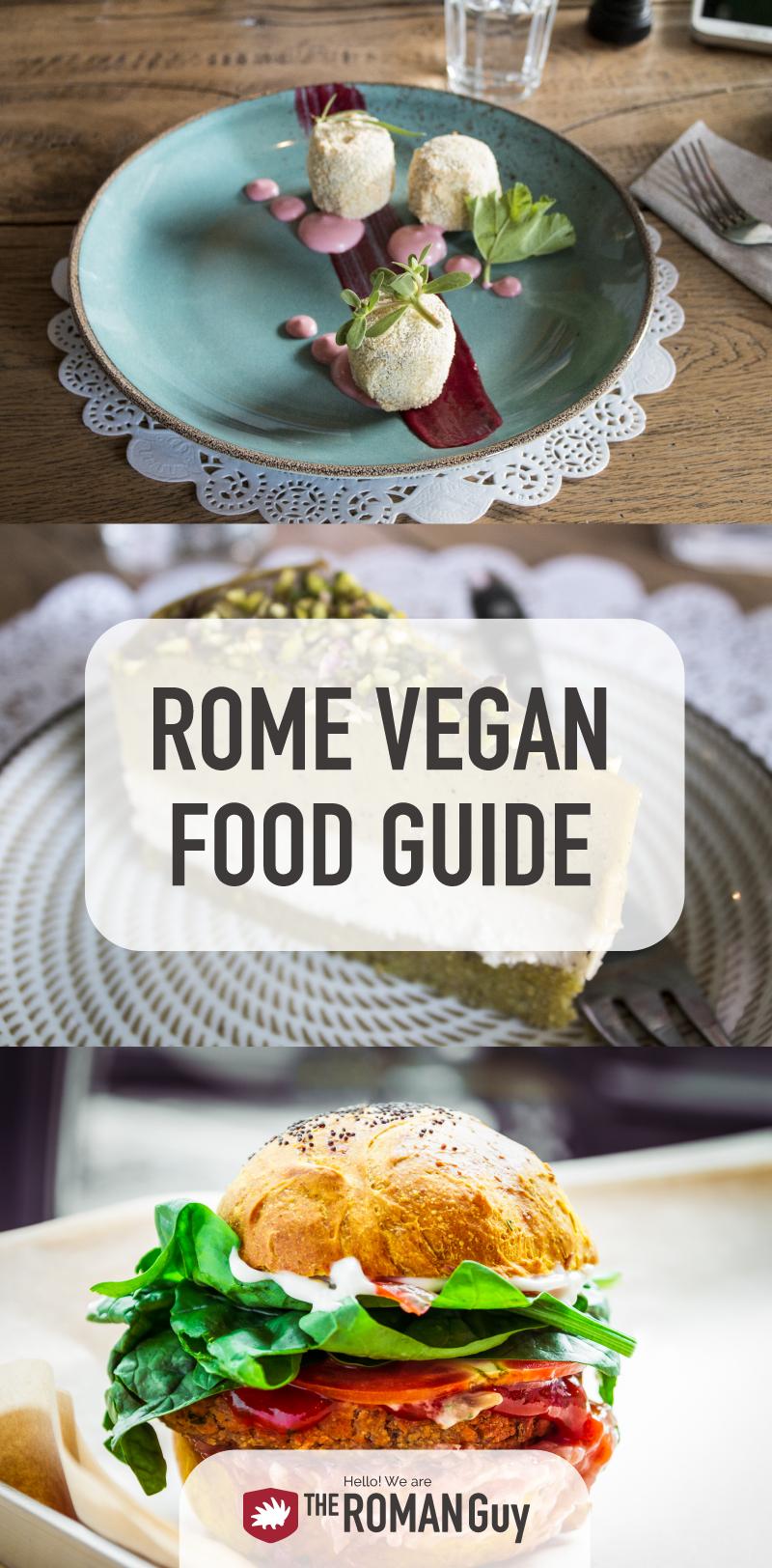 Rome vegan food guide