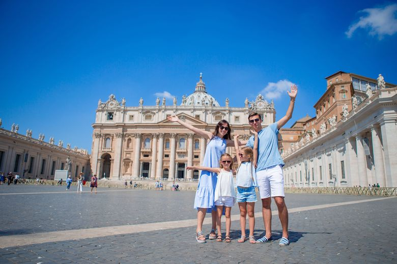 How to Visit Rome with Kids