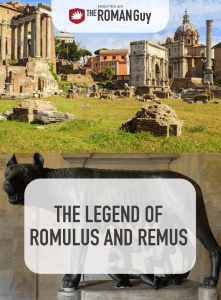 Discover the legend of Romulus and Remus and the birth of Rome! The Roman Guy Italy Tours