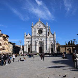 Santa Croce Basilica in Florence, Italy