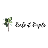scale it simple