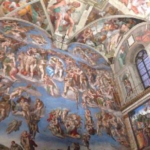 Sistine Chapel Frescos