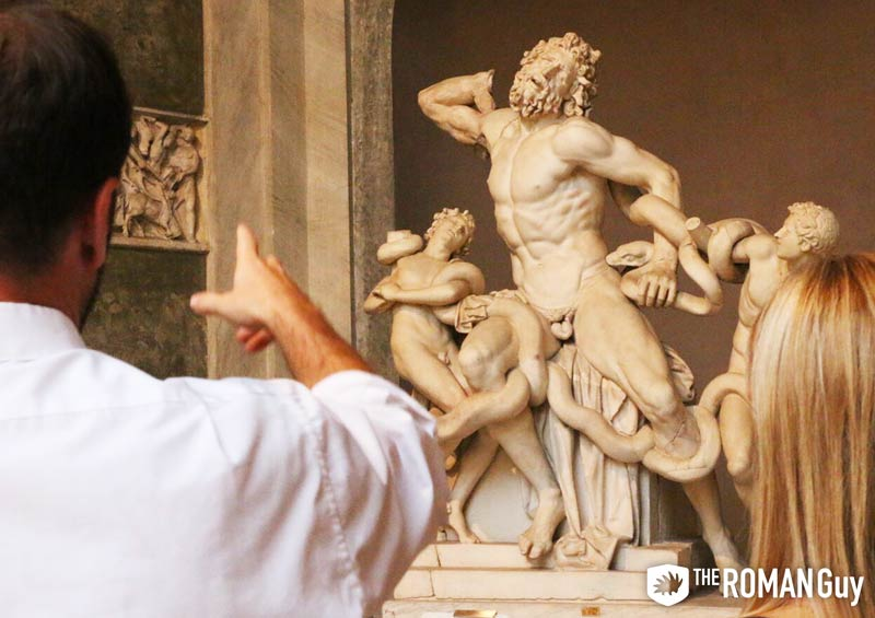Laocoön and His Sons at the Vatican Museums