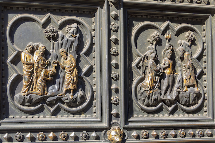 south doors of florence baptistery